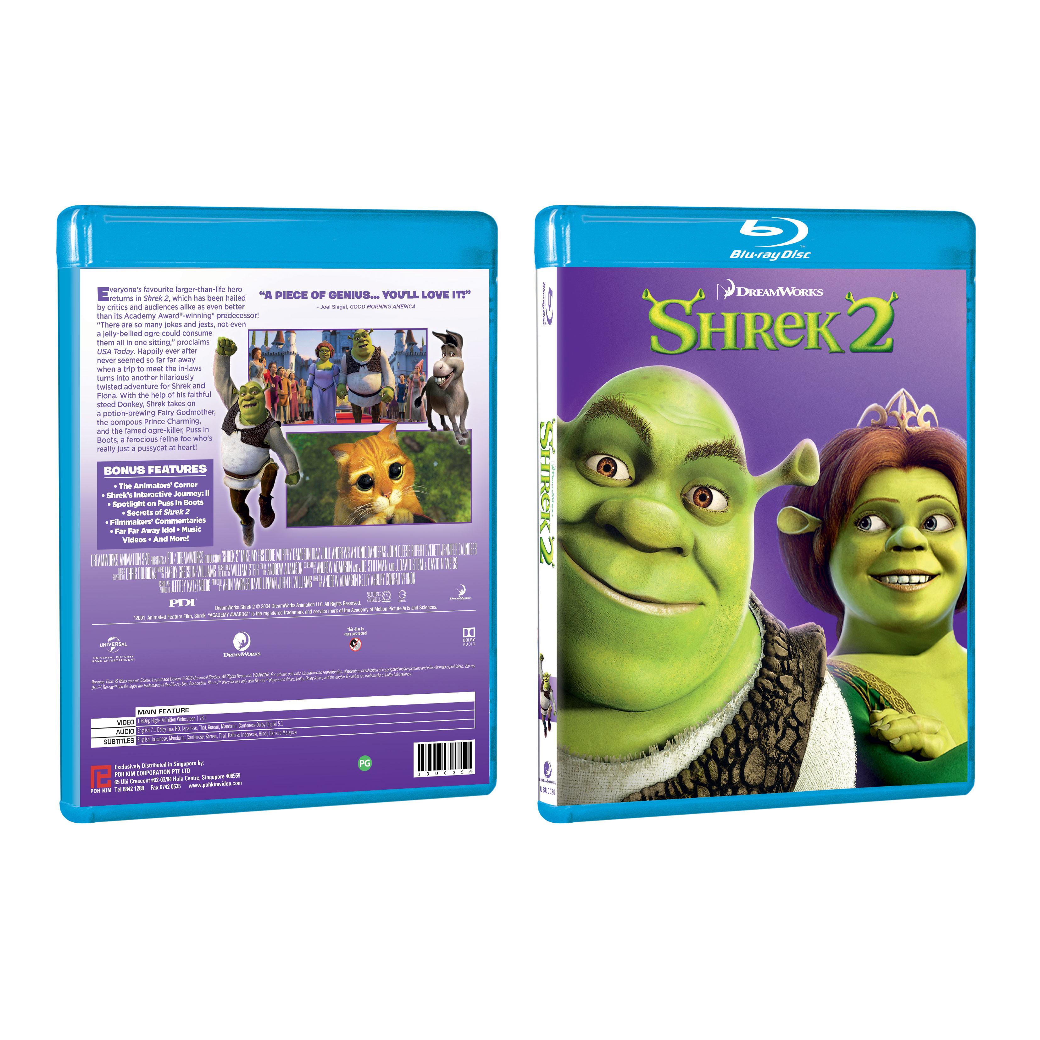 Shrek 2 Blu Ray Poh Kim Video